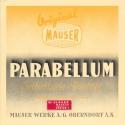 Parabellum Selbstladepistole – manual 1936 (in german language)