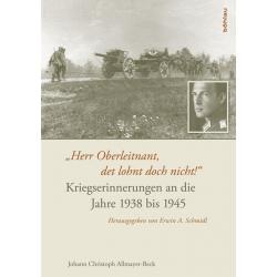 Allmayer-Beck: Kriegserinnerungen 1938-1945