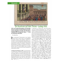 Bay: 1814 - König Ludwig XVIII. von Frankreich