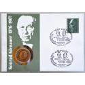 Numisbrief - Deutschland - Konrad Adenauer 1985