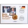 Numisbrief - Deutschland - Boris Becker 1991
