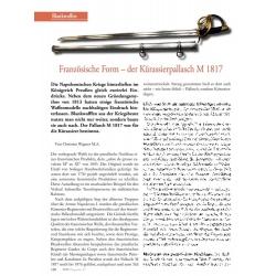 Wagner: Preußens Kürassierpallasch M 1817