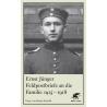 Jünger: Feldpostbriefe 1915-1918