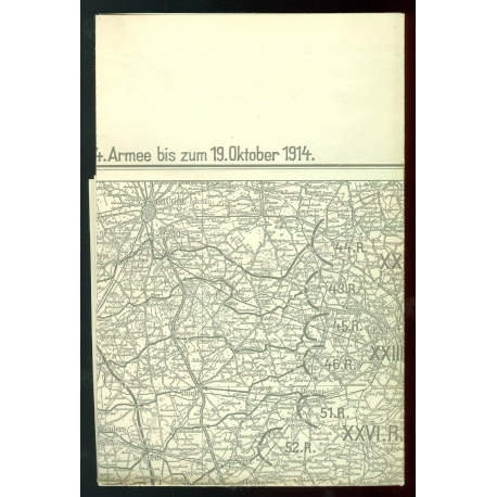 Beumelburg: Ypern 1914 - Karte separat