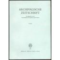 Archivalische Zeitschrift 76 (1980)