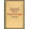 Ludendorff: Kriegserinnerungen