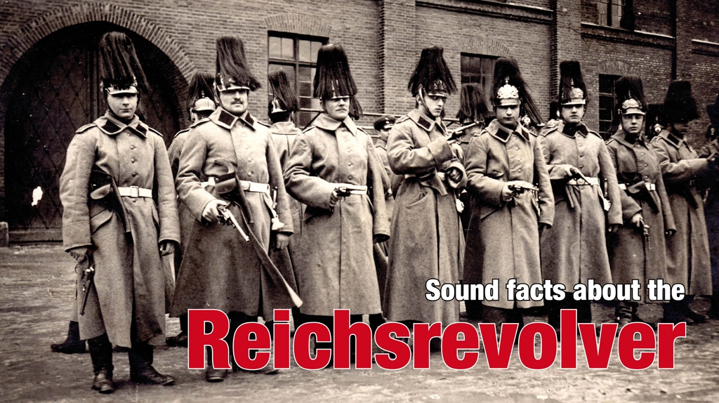 All about the german Reichsrevolver: numbers, training and use in WW I