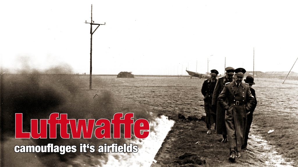 That's how Luftwaffe tried to camouflage it's airfields